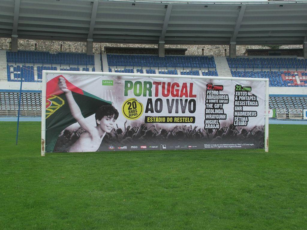 Portugal ao Vivo | 21 e 22 Junho | Estádio do Restelo
